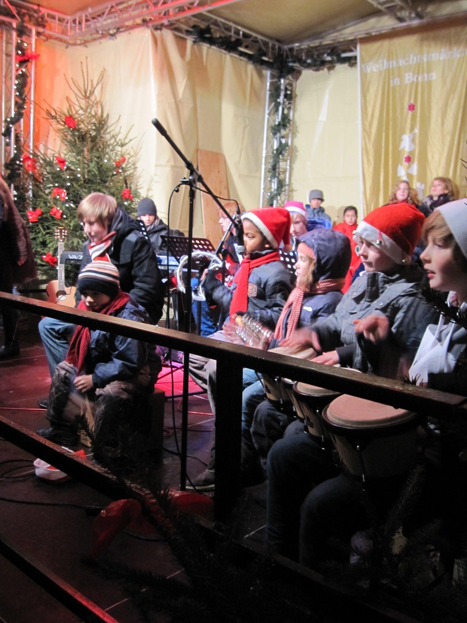 Weihnachtskonzert 'Nikolausmarkt 2010'