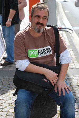 Der Popfarm-Chef: Michael Kernbach