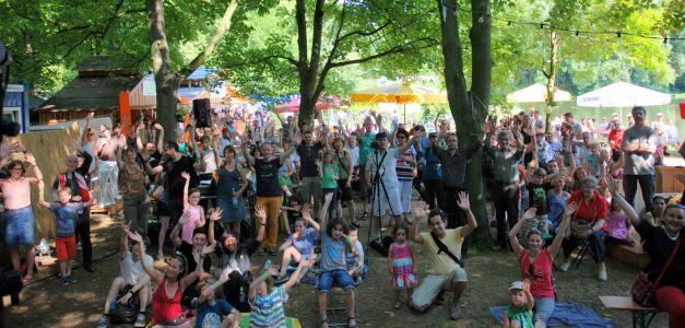 Popfarm-Festival 2013 Im Kunst!Garten