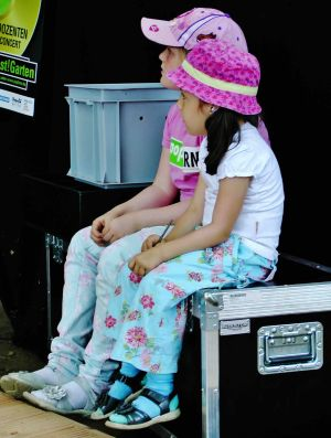 Popfarm-Festival Backstage