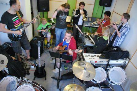 Banding: Wenig Raum, aber viel Musik